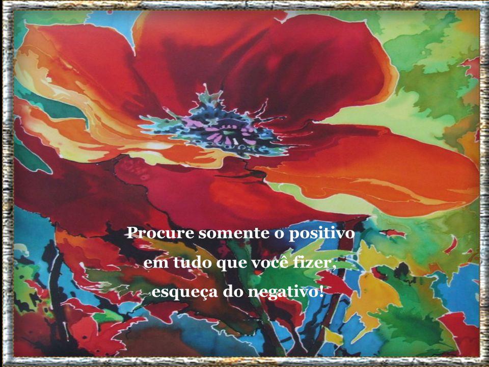 Procure somente o positivo