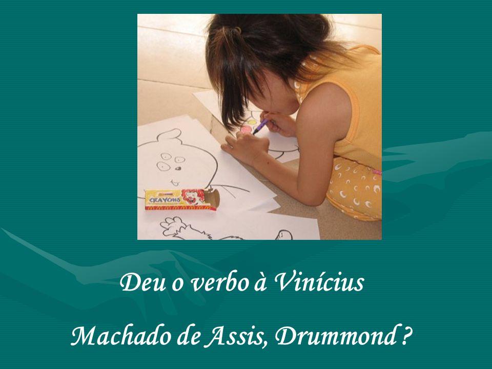 Machado de Assis, Drummond