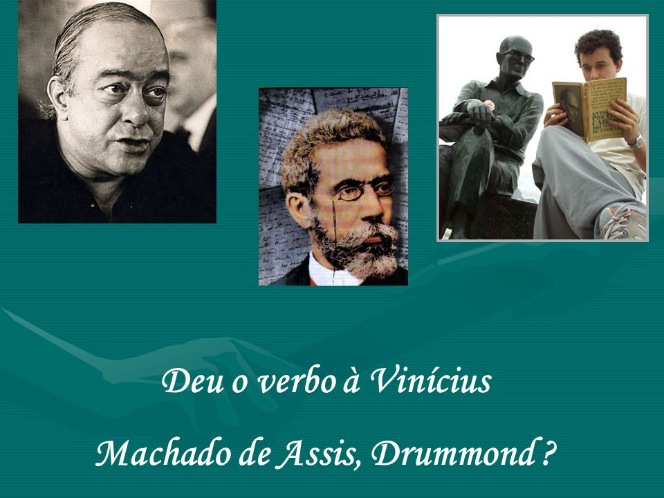 Machado de Assis, Drummond