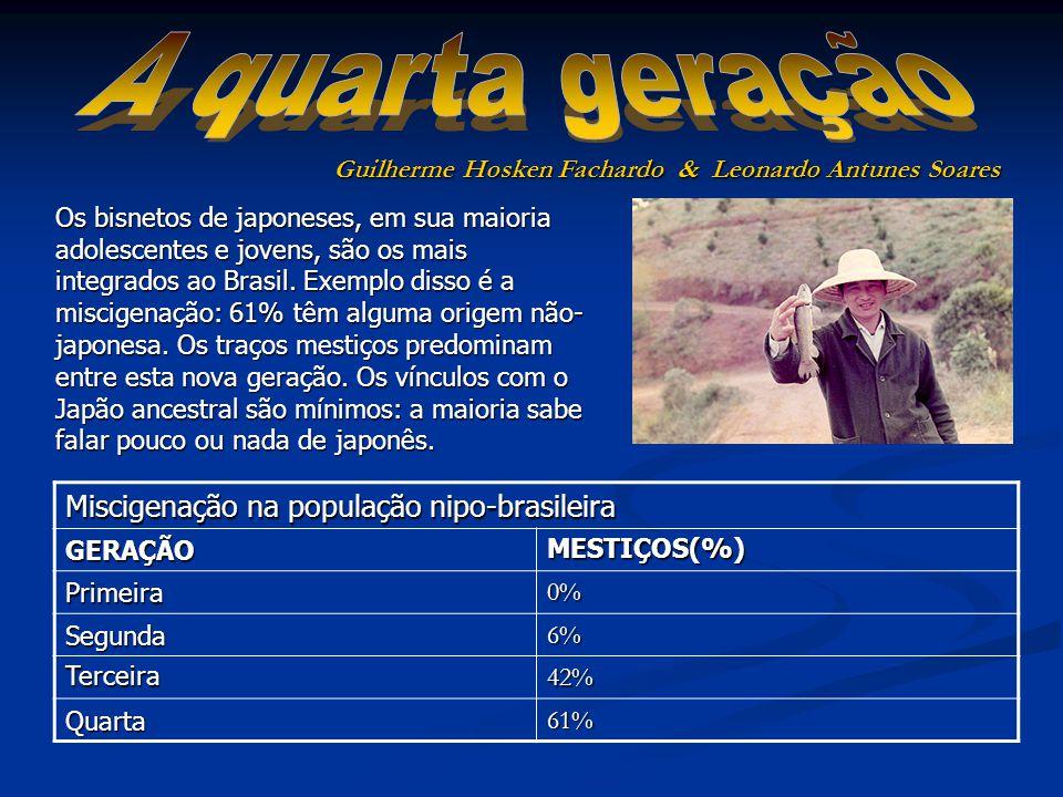 Miscigenação na população nipo-brasileira