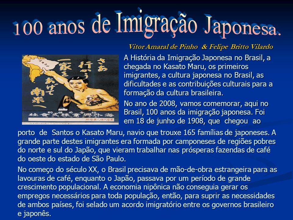 100 anos de Imigração Japonesa.