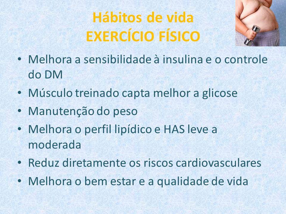 Hábitos de vida EXERCÍCIO FÍSICO