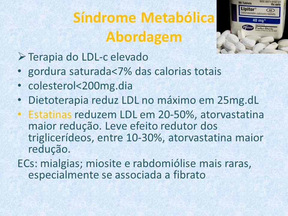 Síndrome Metabólica Abordagem