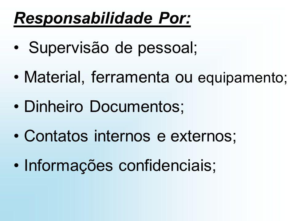 Responsabilidade Por: