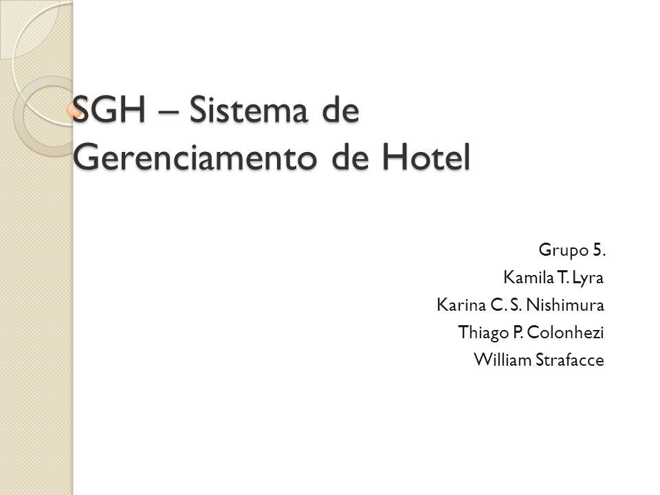 SGH – Sistema de Gerenciamento de Hotel