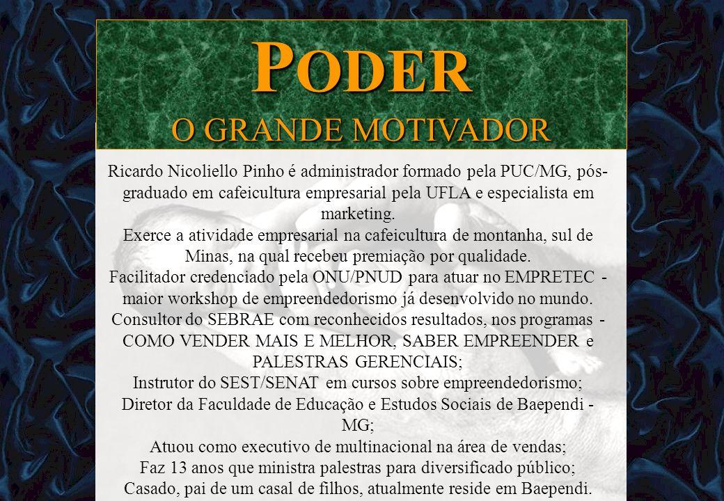 PODER O GRANDE MOTIVADOR