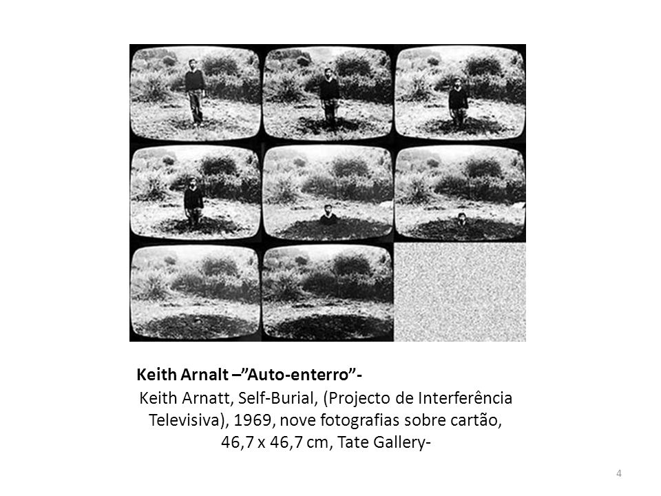 Keith Arnalt – Auto-enterro -