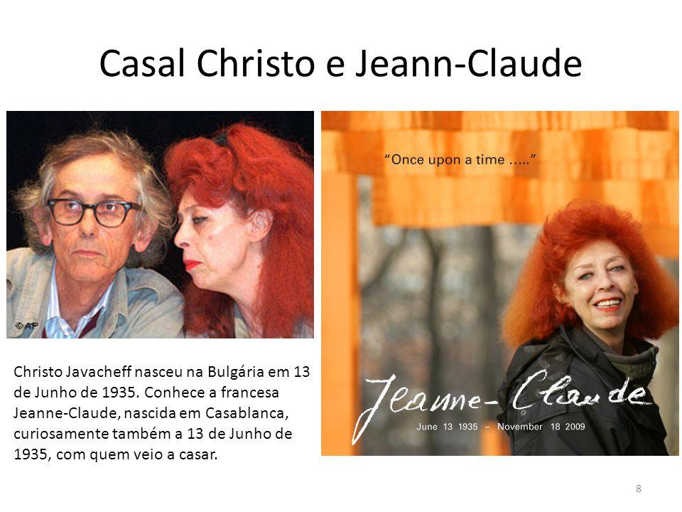Casal Christo e Jeann-Claude