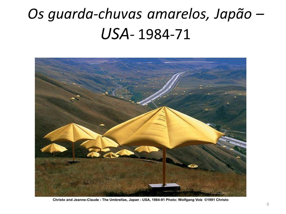 Os guarda-chuvas amarelos, Japão – USA- 1984-71