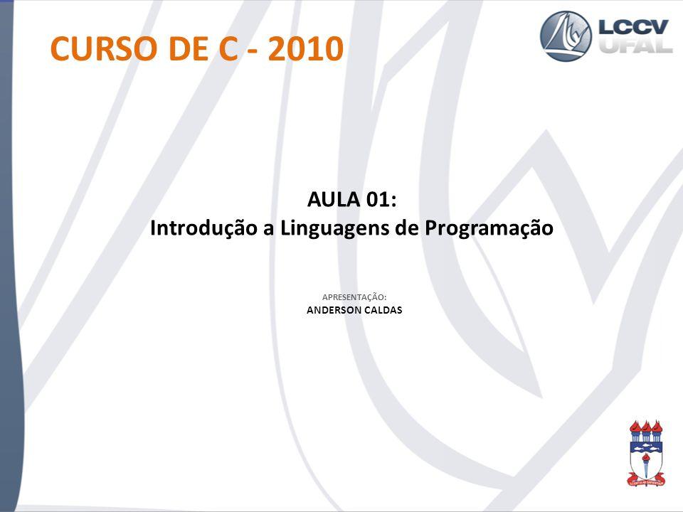 Introdução a Linguagens de Programação