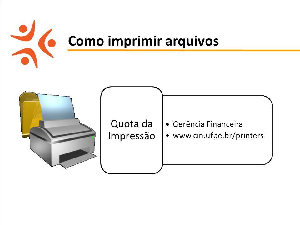 Como imprimir arquivos