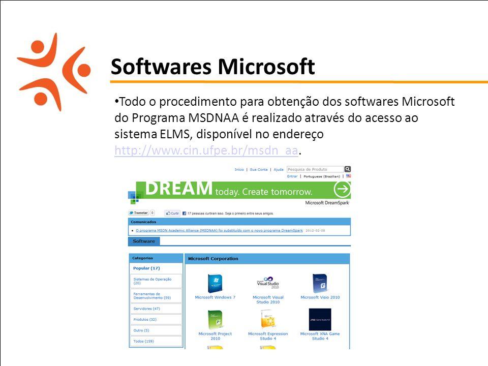 Softwares Microsoft