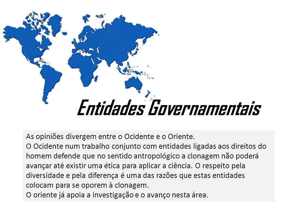 Entidades Governamentais