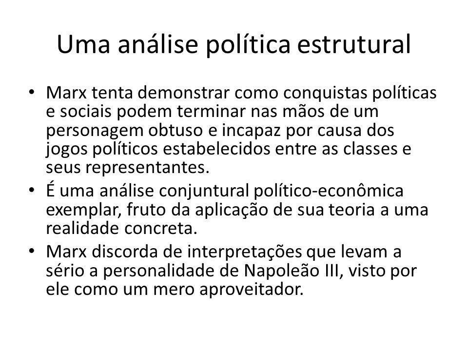 Uma análise política estrutural