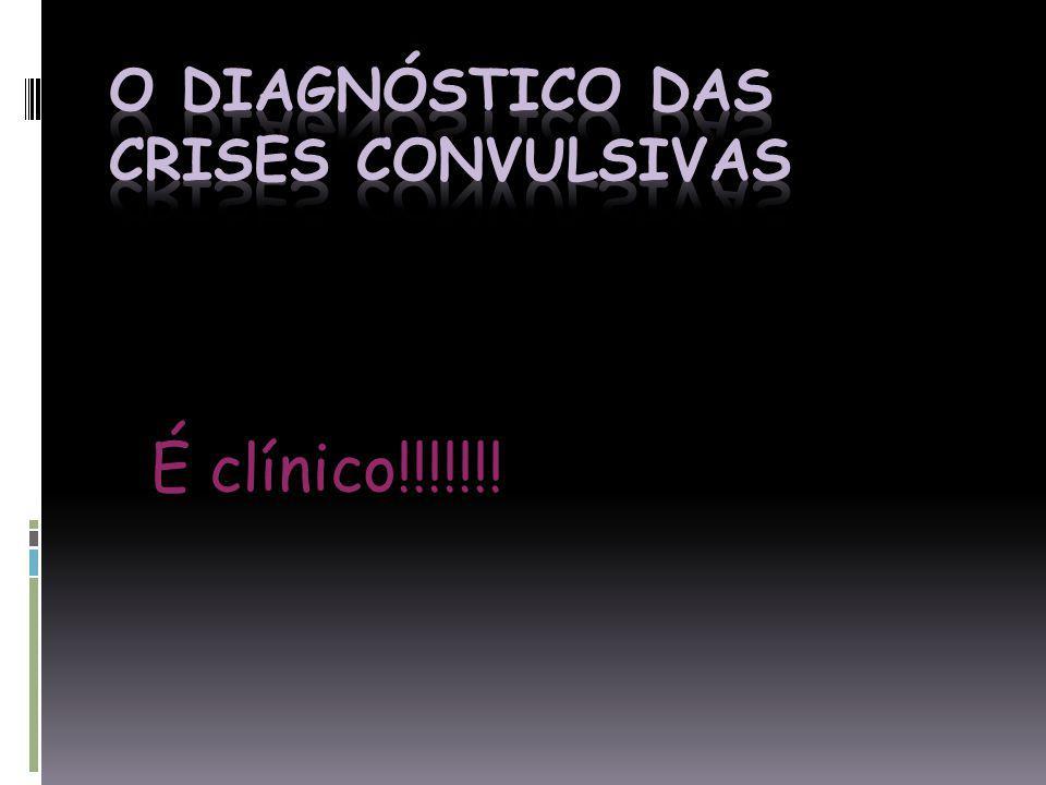 O diagnóstico das crises convulsivas