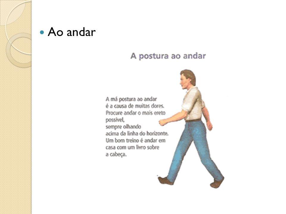 Ao andar