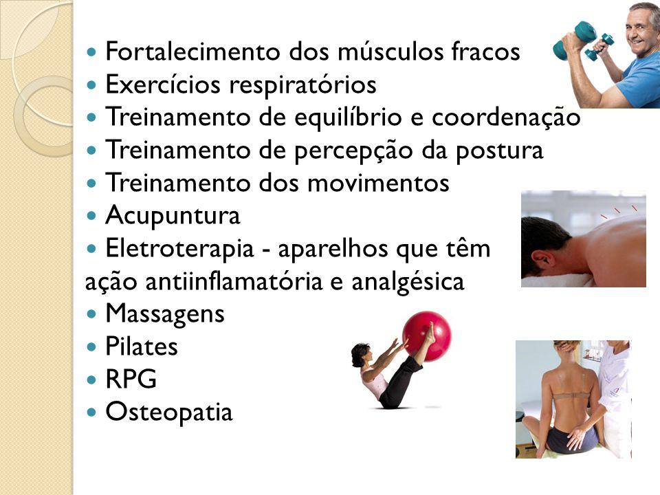 Fortalecimento dos músculos fracos