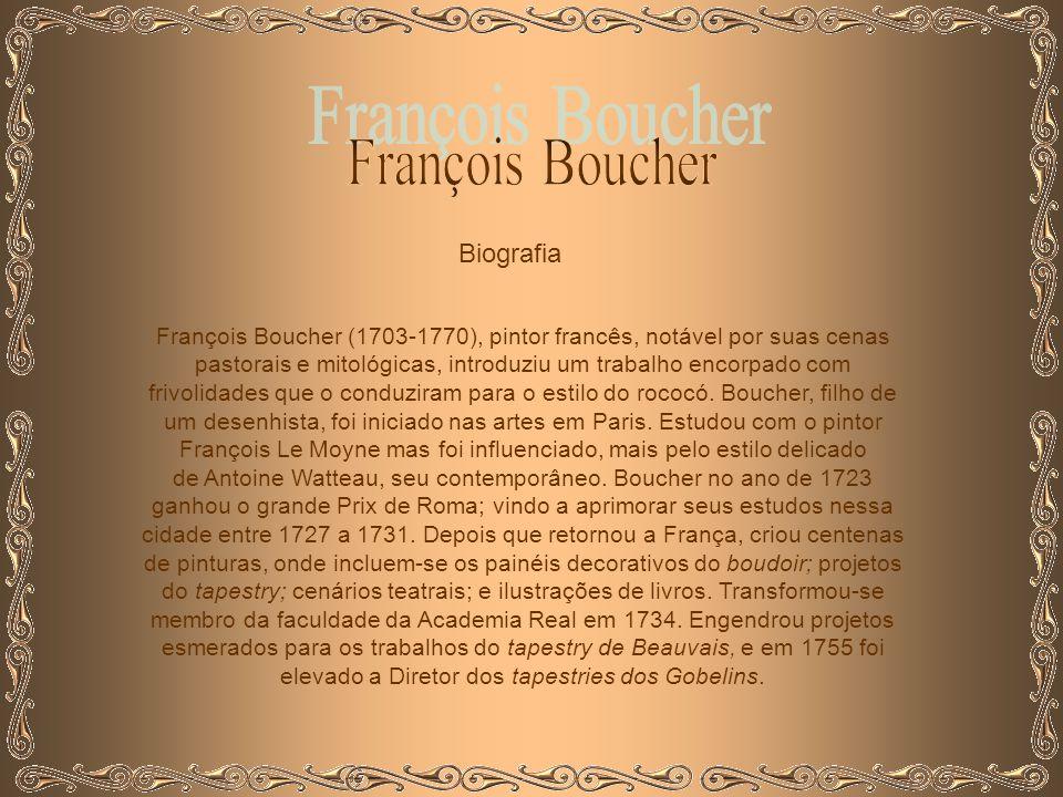 François Boucher Biografia