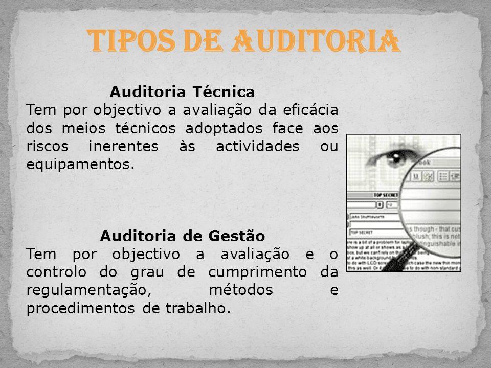 Tipos de Auditoria Auditoria Técnica