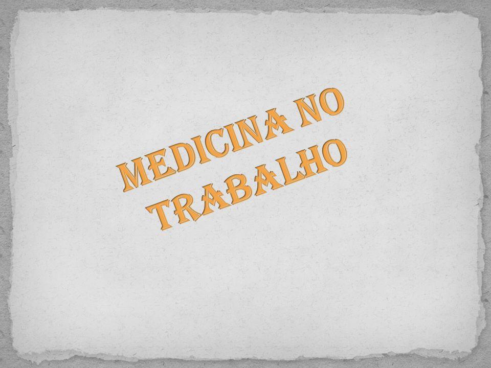 Medicina no Trabalho