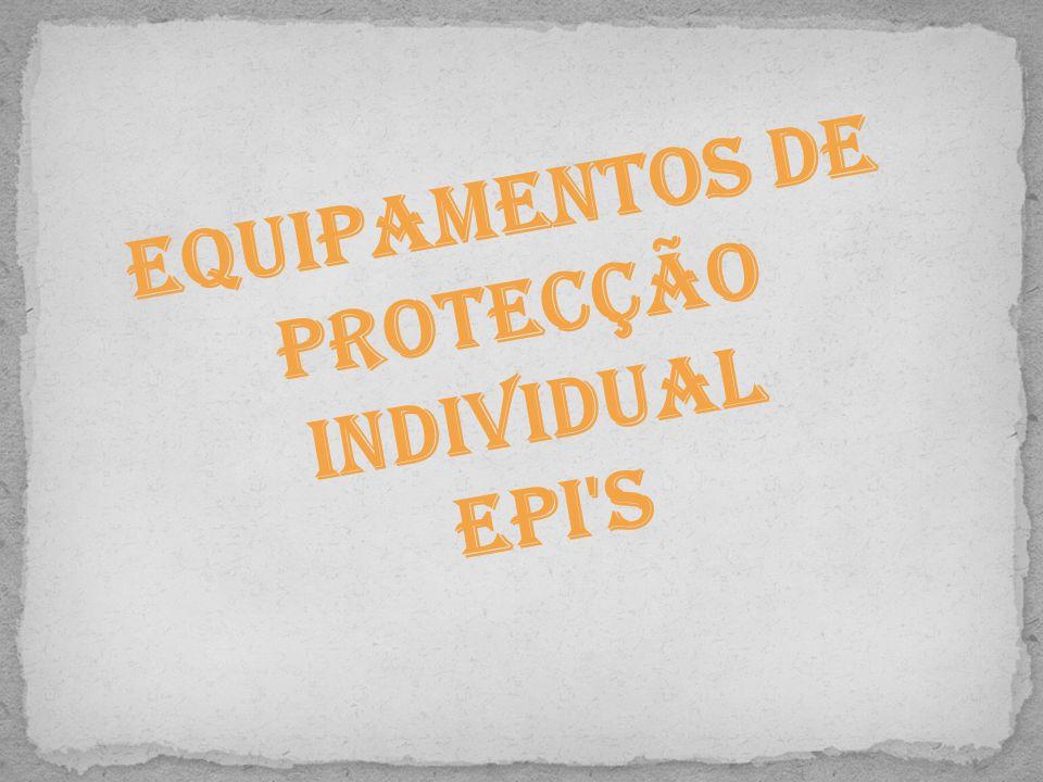 Equipamentos de Protecção