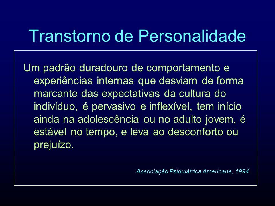 Transtorno de Personalidade