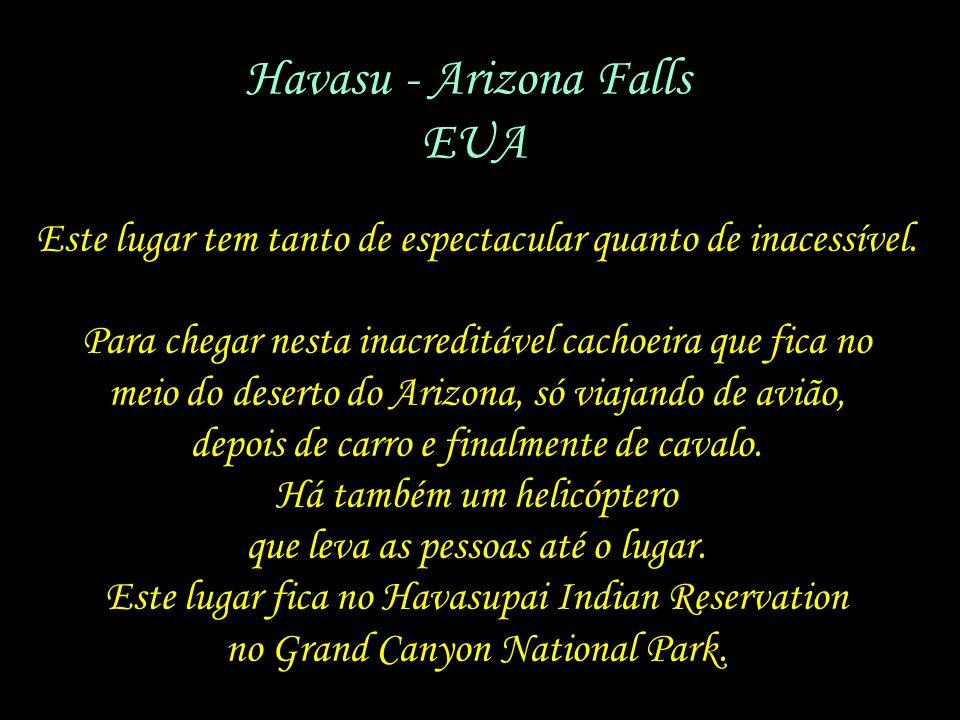 Havasu - Arizona Falls EUA
