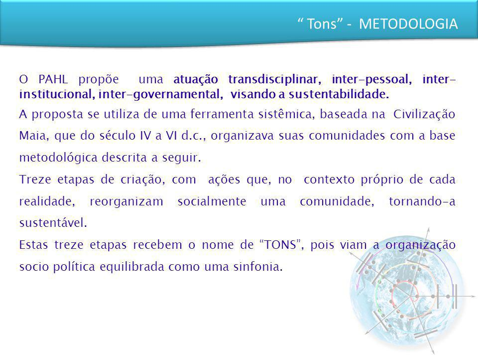 Tons - METODOLOGIA