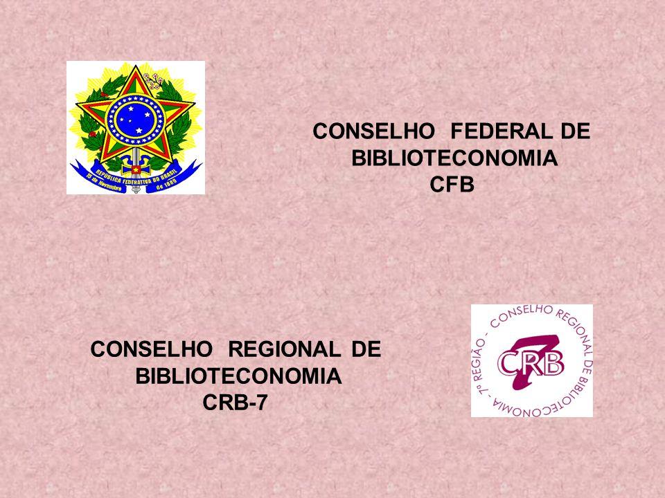 CONSELHO REGIONAL DE BIBLIOTECONOMIA CRB-7