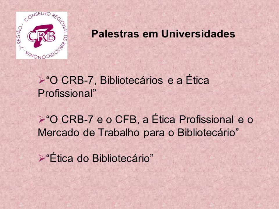 Palestras em Universidades