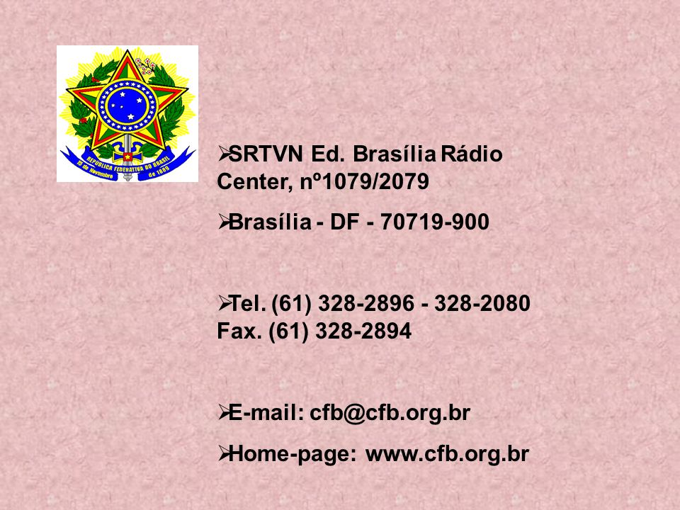 SRTVN Ed. Brasília Rádio Center, nº1079/2079