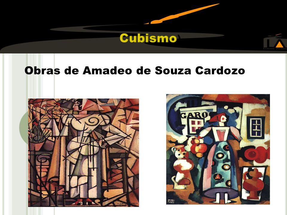 ( Cubismo) Obras de Amadeo de Souza Cardozo ao