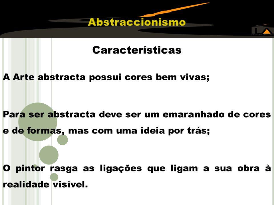Abstraccionismo Características