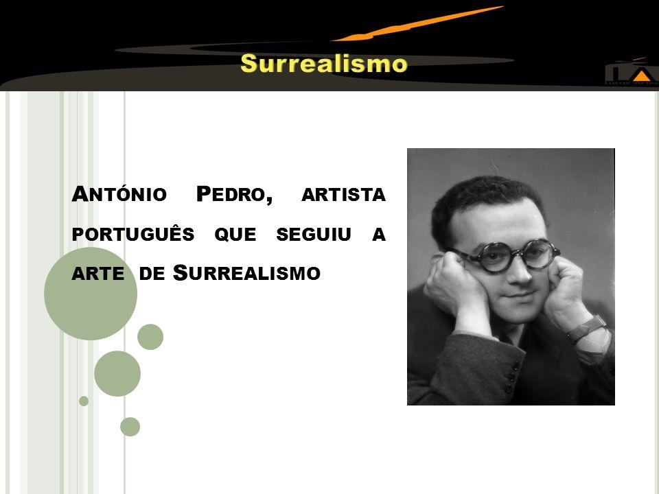 Surrealismo António Pedro, artista português que seguiu a arte de Surrealismo