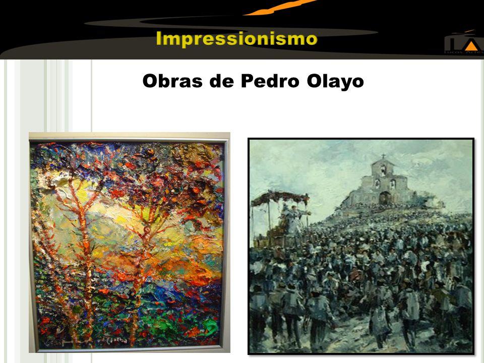 Impressionismo Obras de Pedro Olayo