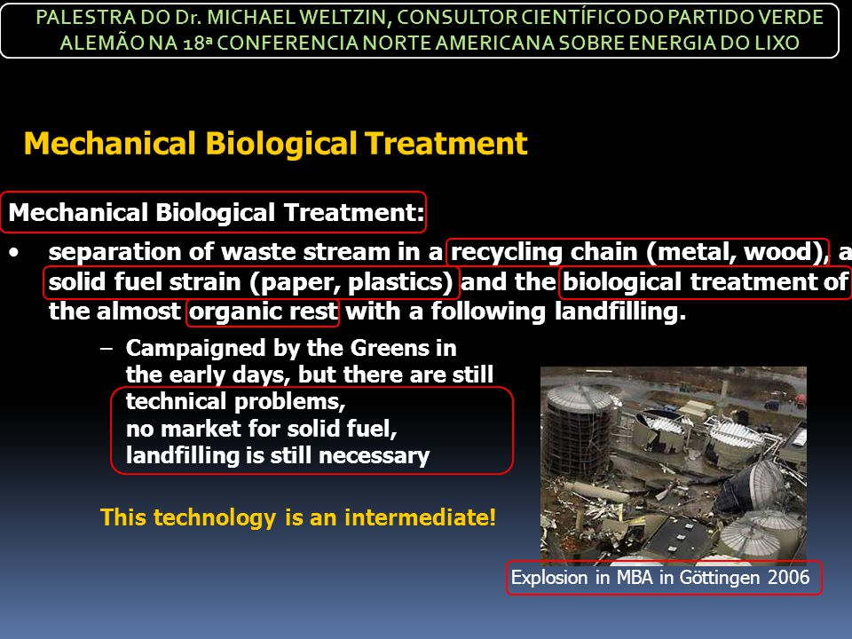 Mechanical Biological Treatment