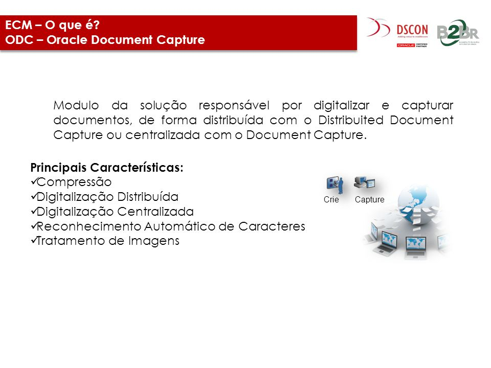 ECM – O que é ODC – Oracle Document Capture