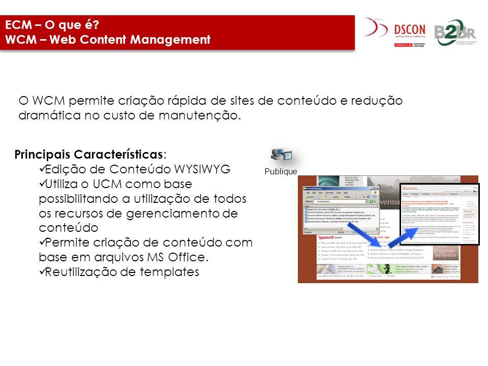 ECM – O que é WCM – Web Content Management