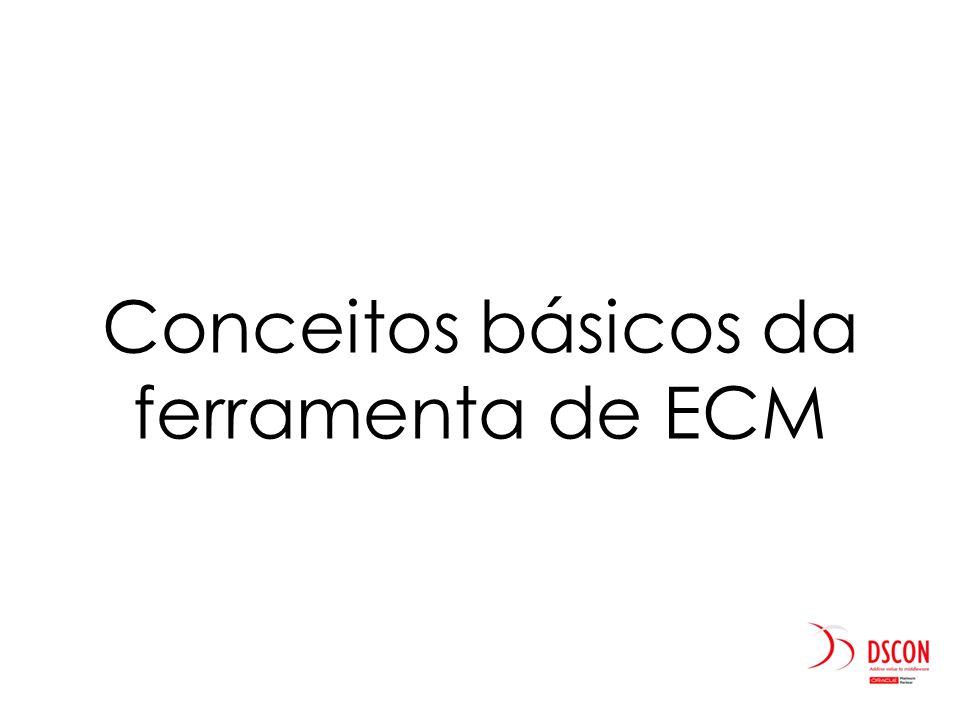 Conceitos básicos da ferramenta de ECM