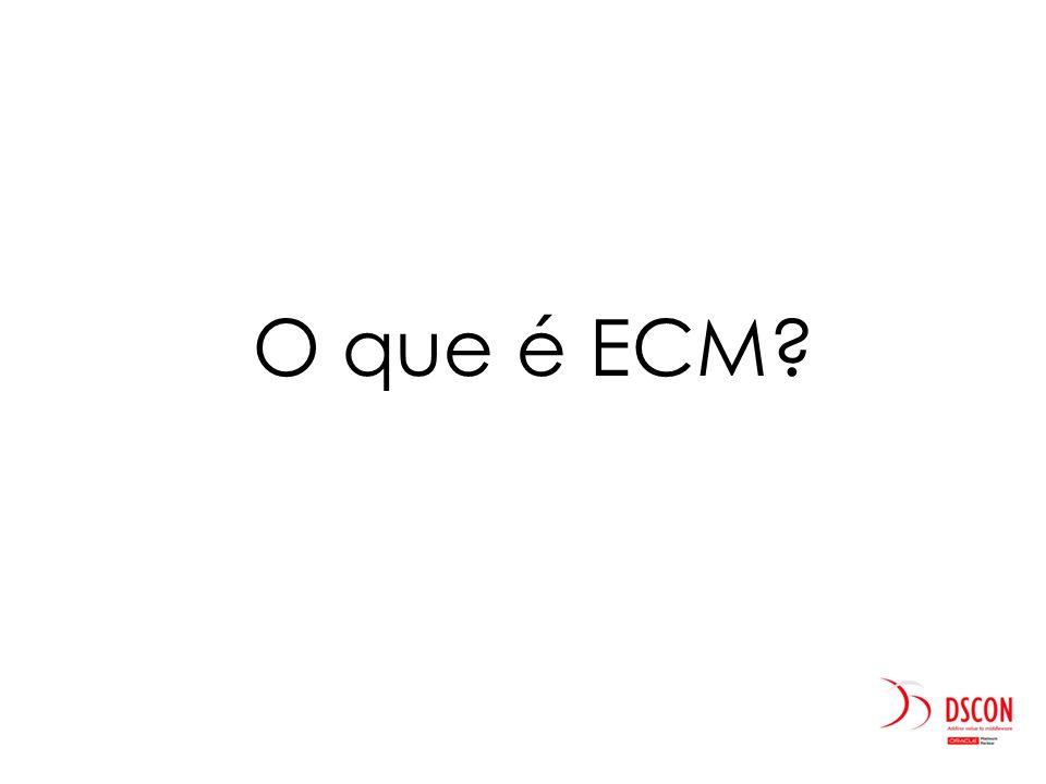 O que é ECM.
