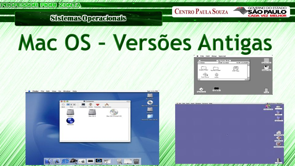 Mac OS – Versões Antigas