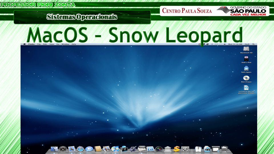 MacOS – Snow Leopard