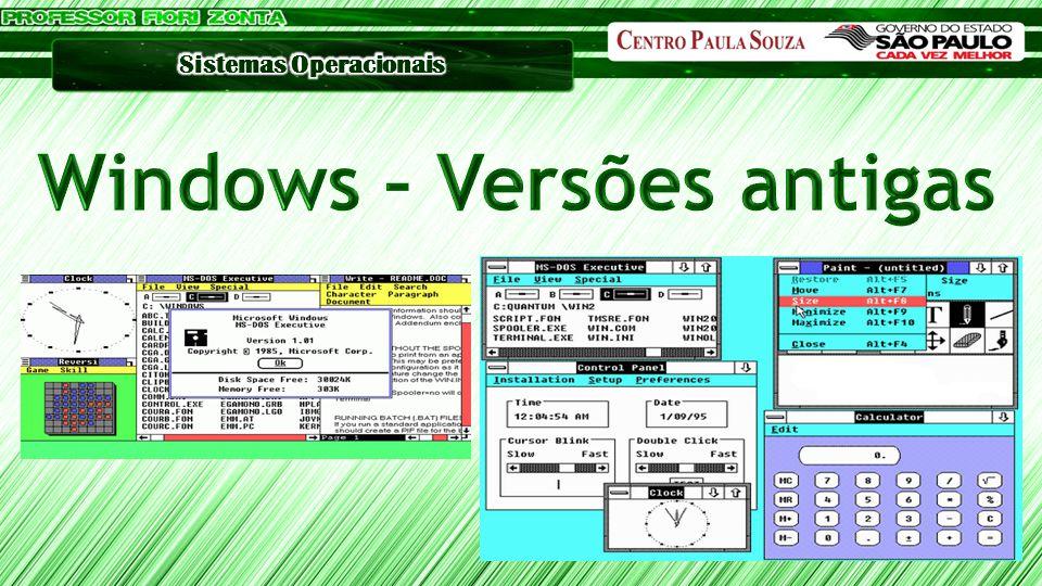Windows – Versões antigas