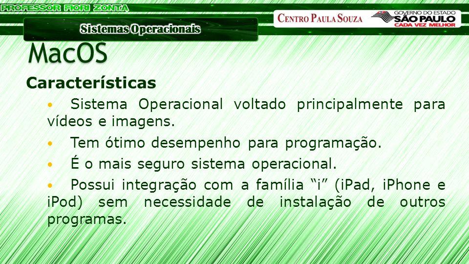 MacOS Características