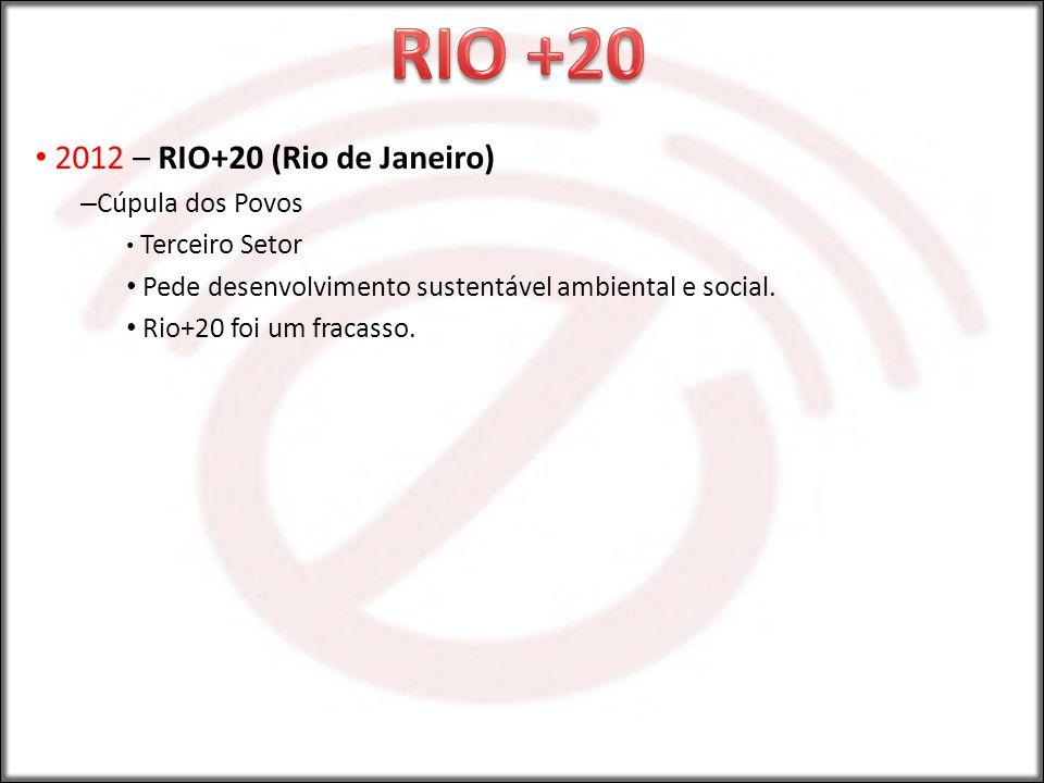 RIO +20 2012 – RIO+20 (Rio de Janeiro) Cúpula dos Povos