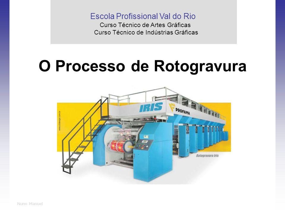 O Processo de Rotogravura