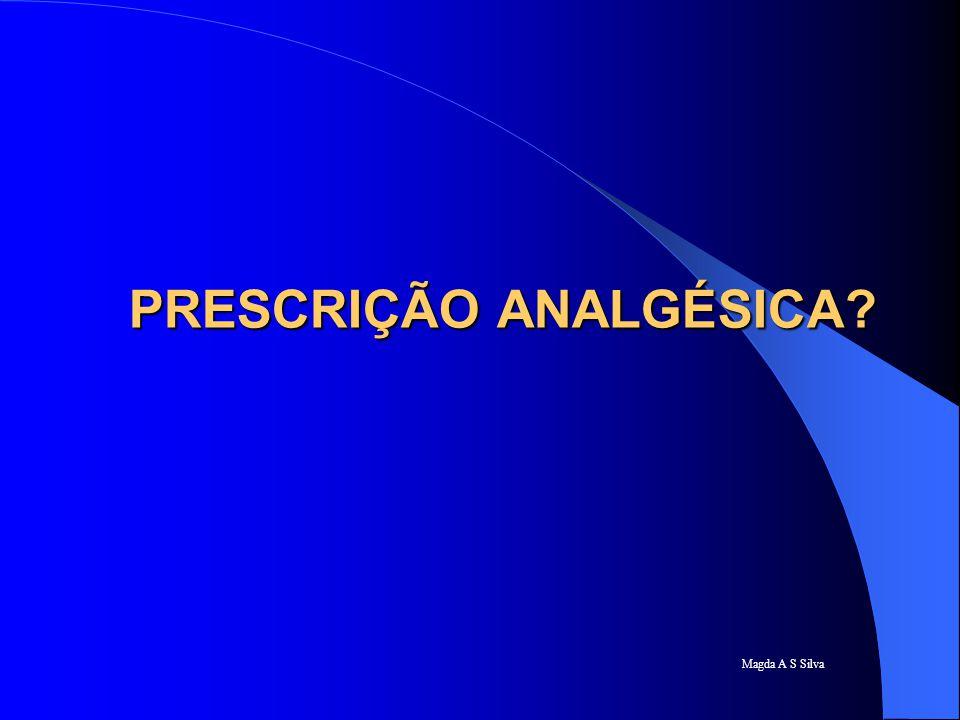 PRESCRIÇÃO ANALGÉSICA