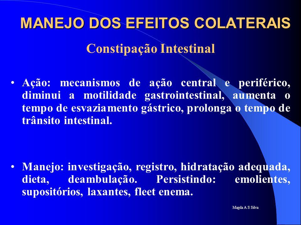 MANEJO DOS EFEITOS COLATERAIS
