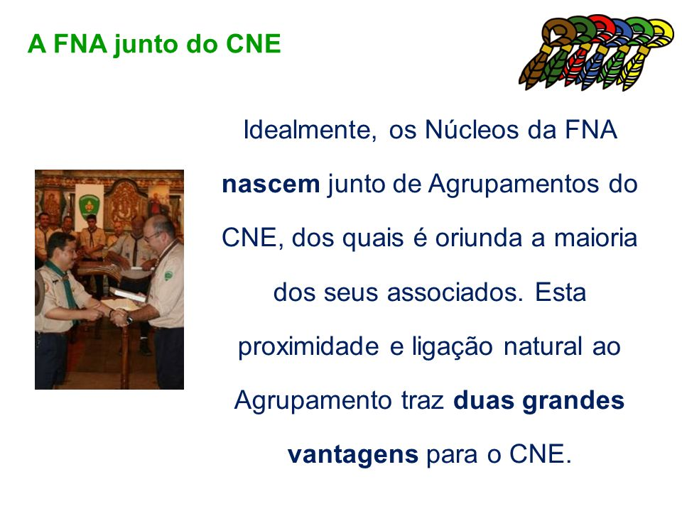 A FNA junto do CNE