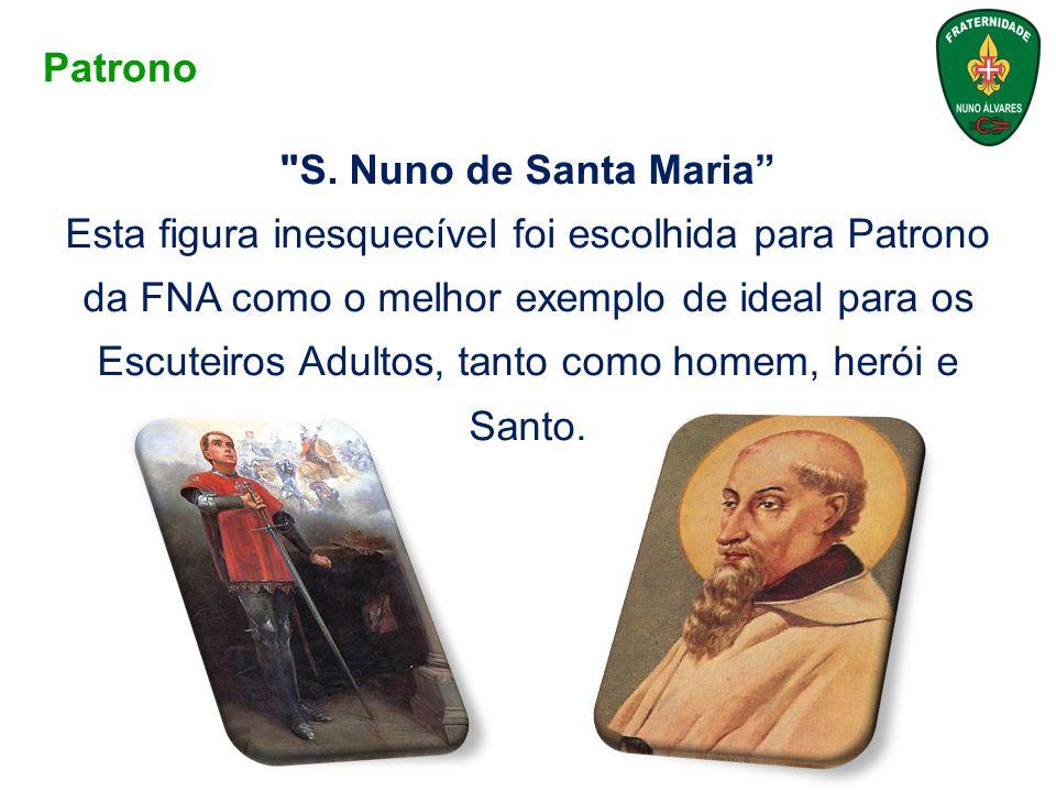 Patrono S. Nuno de Santa Maria